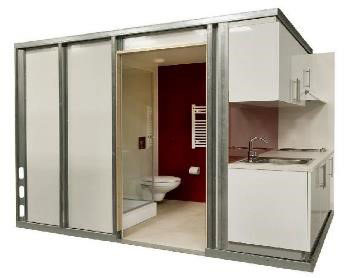 Bathroom and Kitchen Pods